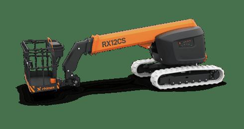 Service en support: de rendering van de nieuwe Rx12CS hoogwerker