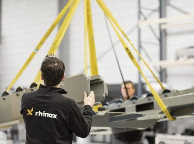 RX12CS hoogwerker montage