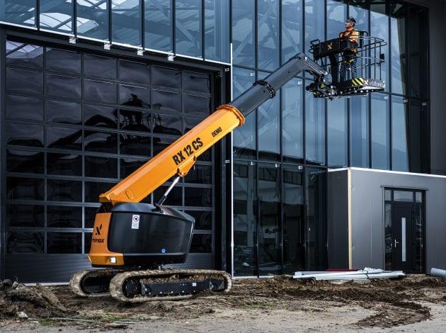 RX12CS hoogwerker voor gebouw