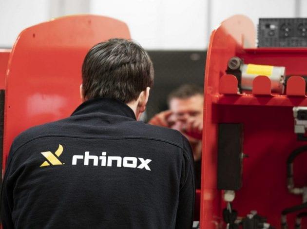 RX12CS hoogwerker in elkaar zetten