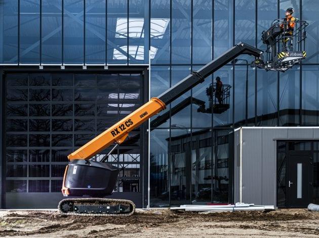 RX12CS hoogwerker zijkant